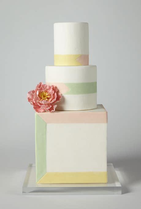 wedding cakes nh white pastel striped wedding cake an ivory wedding cake