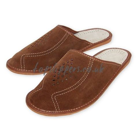 mens house slippers leather buy big size xl large leather house slippers mules for men model no 346