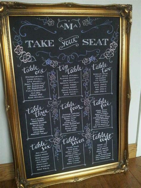 diy chalkboard table seating chart pin by clarissa ferguson on wedding diy
