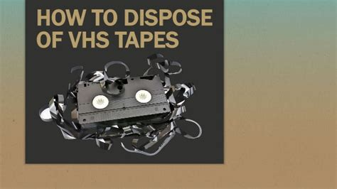 How To Dispose Of by How To Dispose Of Vhs