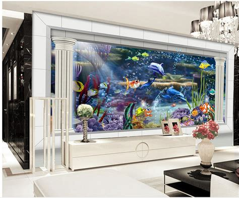Tv Aquarium get cheap aquarium 3d aliexpress alibaba
