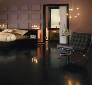 black wood flooring for your stylish room flooring ideas