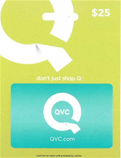 Where Can I Buy Qvc Gift Cards - qvc qvc 25 gift card for sale findsimilar com