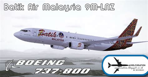 batik air vietnam pmdg 737 800ngx malindo batik air 9m lcc livery fsx