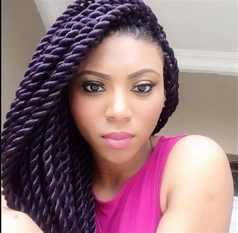 havana twist with marley hair styles havana or marley twists twists braids pinterest