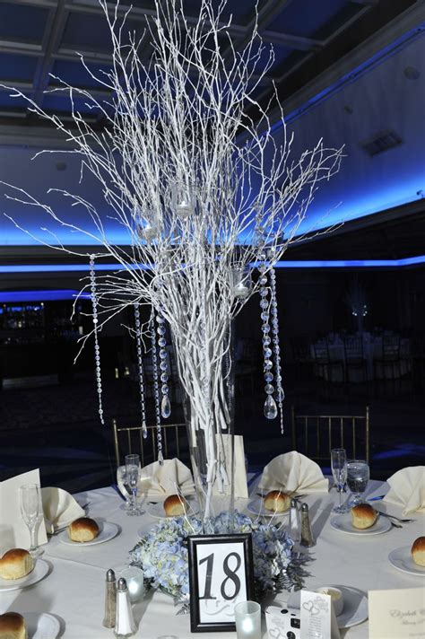 winter wedding table centerpieces winter centerpieces our winter wedding