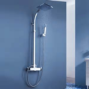 Contemporary Shower Faucets Contemporary Tub Shower Faucet With 8 Inch Shower Head