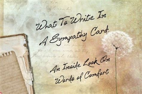 comforting words of sympathy to write in a card what to write in a sympathy card words of comfort