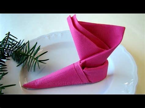 servietten falten weihnachten weihnachtsdekoration