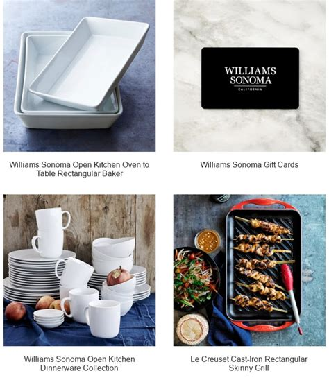 Where To Buy Williams Sonoma Gift Cards - williams sonoma today only buy more save more up to 25 off in stores online