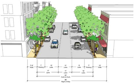 street section blount street person street corridor study approved