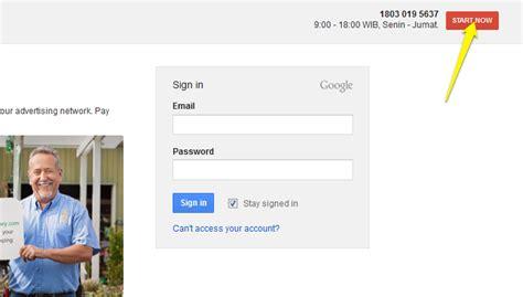 cara membuat akun google ads cara buat iklan google adwords langkah 1 buat akun