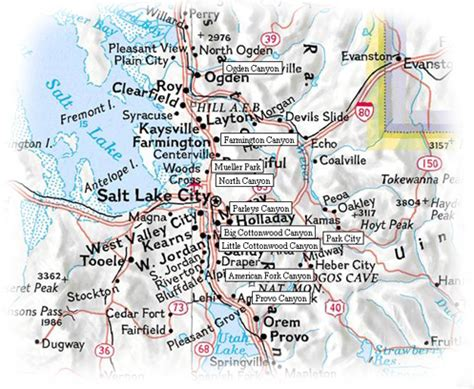 wasatch mountains map guidebook to the best snowshoe trails of the wasatch range