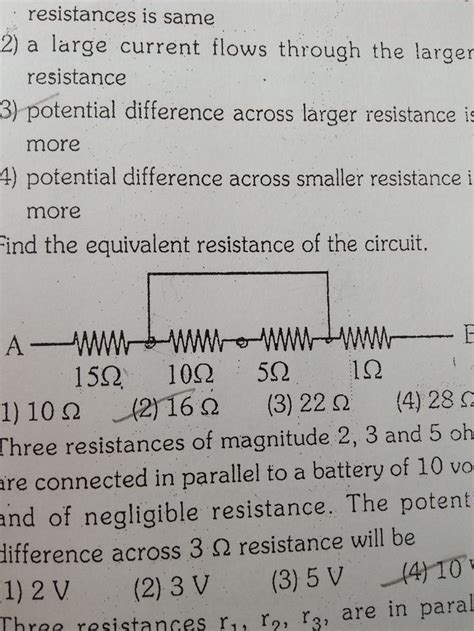 resistors of values 8 12 and 24 are connected in parallel across a fresh battery calculate resistors in parallel calculator 28 images 5 1 electric potential difference