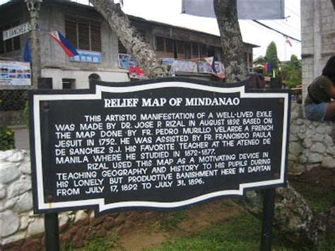 Was Rizal An American Made Article Rizal S Relief Map Of Mindanao Vista Pinas