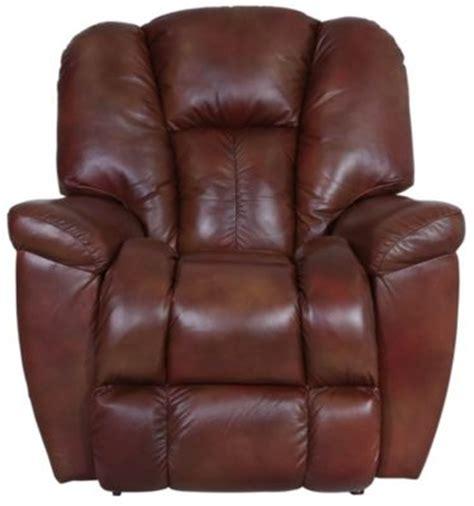 la z boy maverick leather recliner la z boy maverick 100 leather rocker recliner