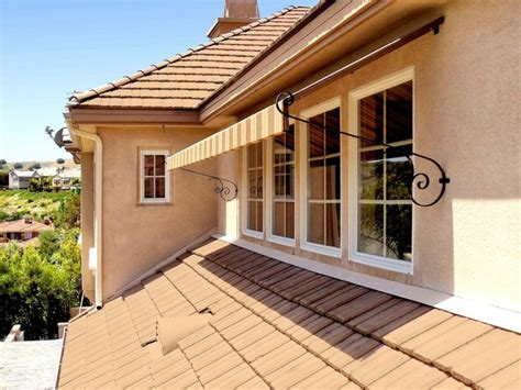 Exterior Awning by Window Awning Traditional Exterior Los Angeles By