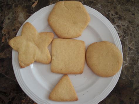shaped cookies c is for cookie or early learning with cookies