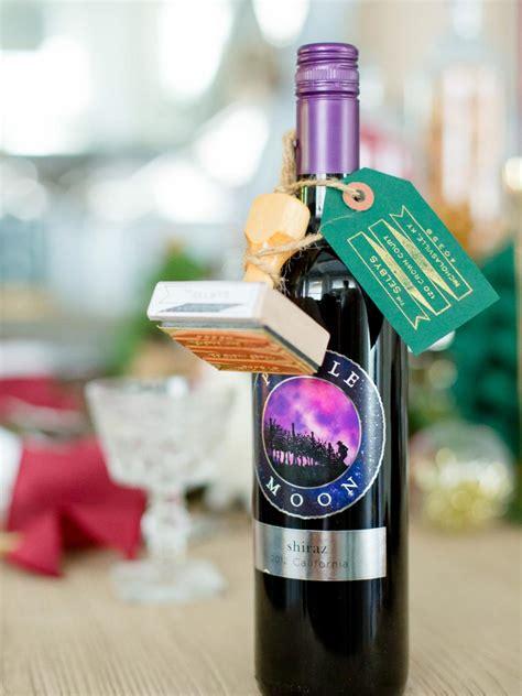 10 creative ways to wrap a wine bottle gift hgtv