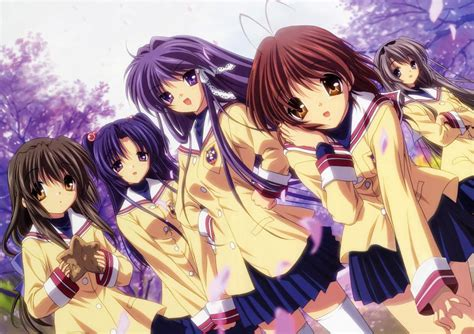 clannad anime website poll clannad top list on anime series that you want to
