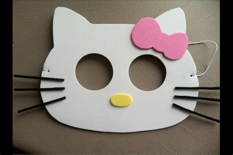 hello kitty mask printable template 5 best images of hello kitty printable mask hello kitty