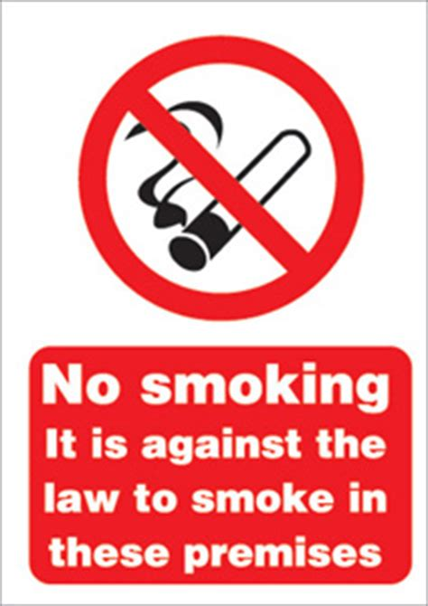 no smoking sign board images instructional signs