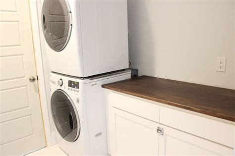 Ikea Cabinets For Laundry Room Ikea Desk Top Turned Laundry Room Cabinet Top