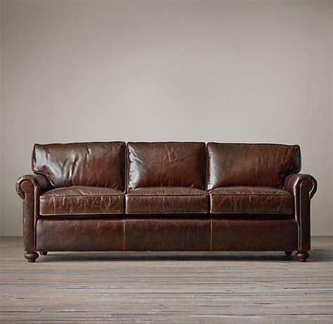 lancaster leather sofa lancaster leather sofas and sofas on pinterest