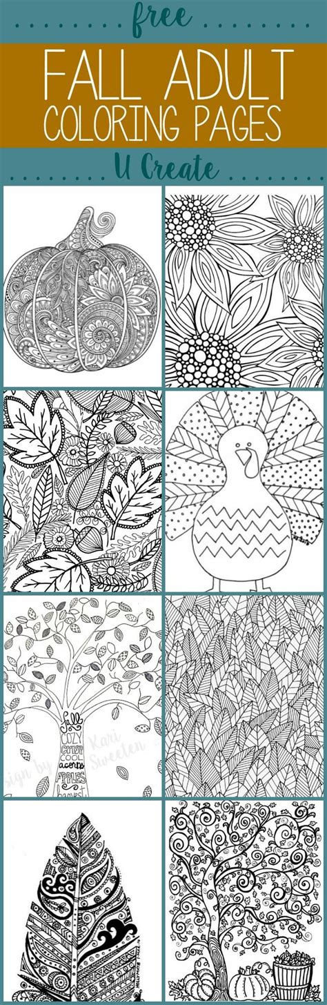 advanced fall coloring pages 185 best printables images on pinterest