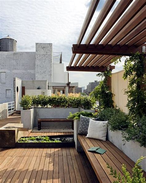 garden bench with roof bench seat roof top garden roof deck inspiration from