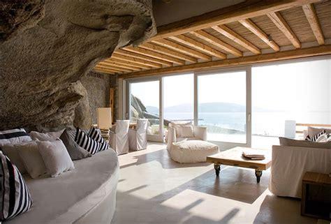 Mykonos Interior Design by The Cavo Tagoo Hotel In Mykonos Greece