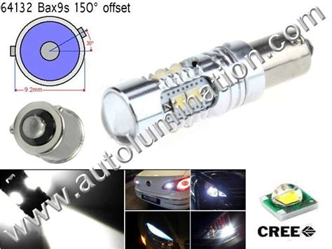 Lu Led Licons ba9s bax9s e10 ba7s indicator instrument panel bulbs autolumination