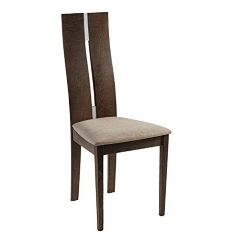 julian bowen cayman dining chair walnut finish set of 2