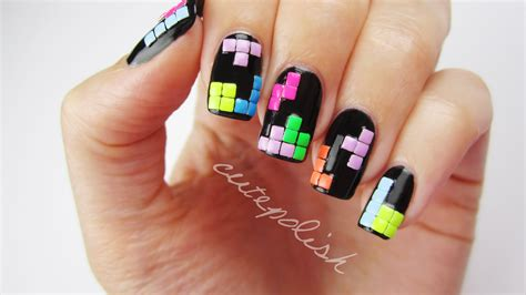 nail r 3d tetris nails nail series