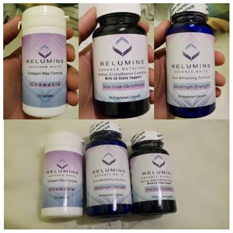 Glutathione Collagen relumins advanced glutathione and collagen review vanity