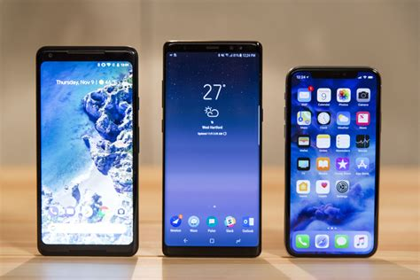 iphone x vs note 8 pixel 2 and v30 is a surprisingly