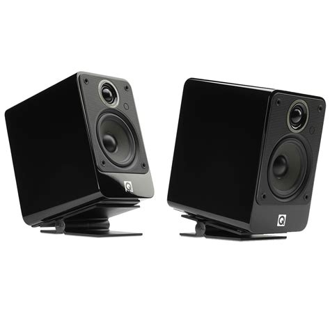 Small Desk Speakers Soundxtra Black Universal Small Speaker Stands Pair System Tweaks Audiovisual Uk