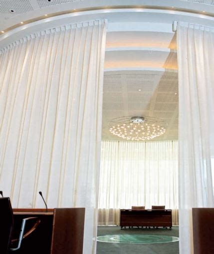commercial blinds and drapes mechoshade 174 whispertrak motorized drapery system