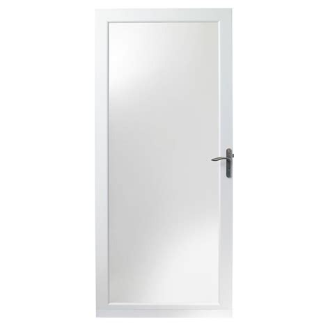 Andersen 4000 Door Installation by Andersen 36 In X 80 In 4000 Series White Universal
