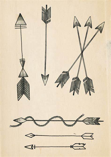 arrow tattoo designs rich fairhead illustration a few arrow designs for