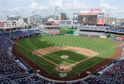 Baseball In Washington nationals park washington nationals ballpark ballparks