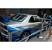 Fast 2 Furious Brian O Conner S Nissan Skyline R34 Gt R  Male Models