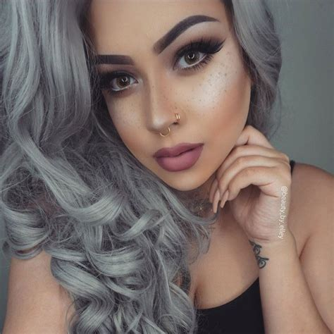 granny hair colour 2015 hottest hair color trends 2016 cosmetics geniusbeauty