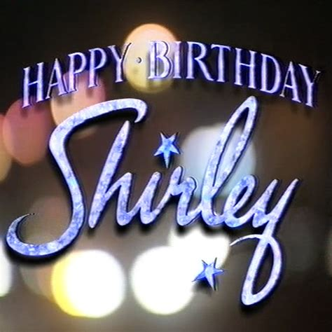 happy birthday shirley shirley bassey spj dvds