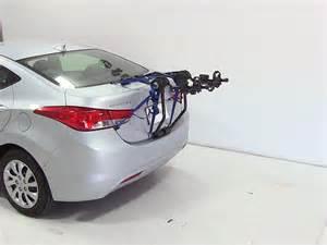 Hyundai Elantra Bike Rack Trunk Bike Racks By Thule For 2013 Elantra Th910xt