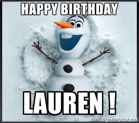 Disney Birthday Meme - happy birthday lauren images happy birthday lauren