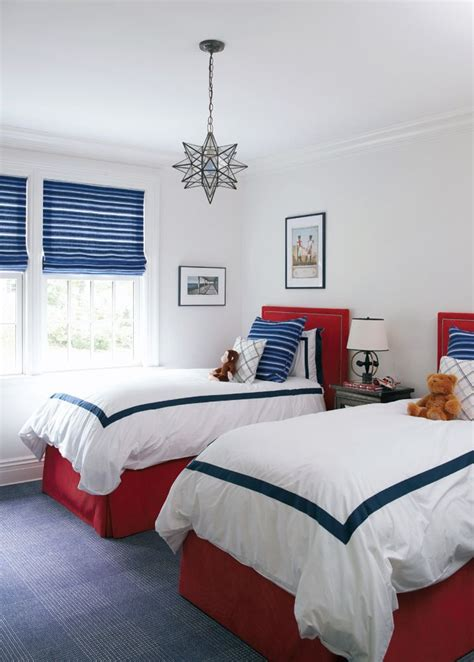 white blue bedroom red white and blue children s bedroom home pinterest