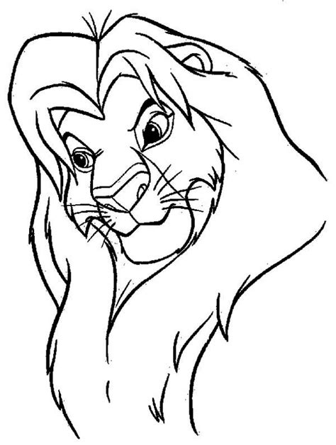 Free Coloring Pages Of Mufasa Mufasa Coloring Pages