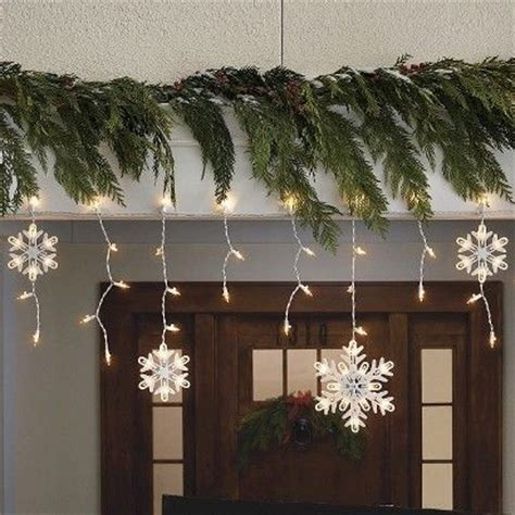 outdoor snowflake lights string 1000 ideas about snowflake lights on glass blocks lights and lighted
