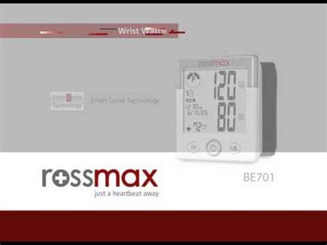 Tensimeter Rossmax rossmax new highly accurate blood pressure monitor